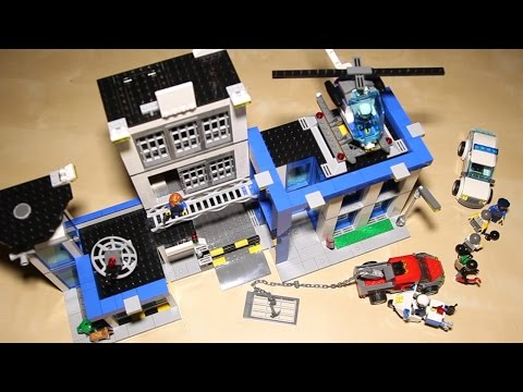 Lego City 60047 Police Station - Lego Speed Build Review