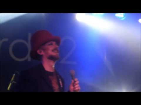 Boy george church of poison mind Concorde 2 Brighton Nov 13 , this is what i do tour