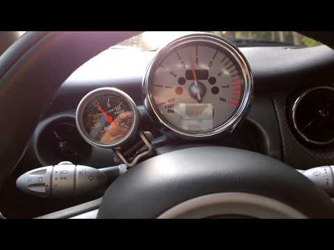 Slow mode - Bypassed supercharger in R53 Mini Cooper S