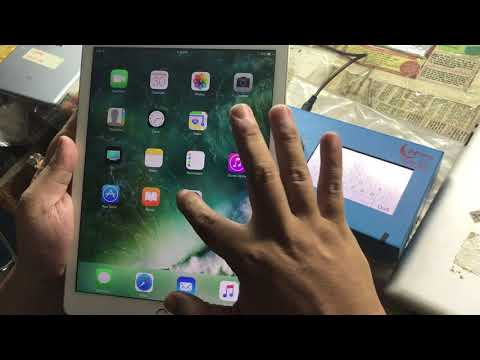 Edit seri number ipad air 2 no need remove hdd
