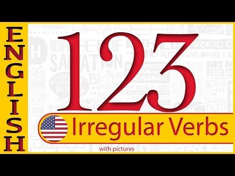 Irregular verbs list - 123 irregular verbs with pictures - الإنجليزية الأفعال الشاذة