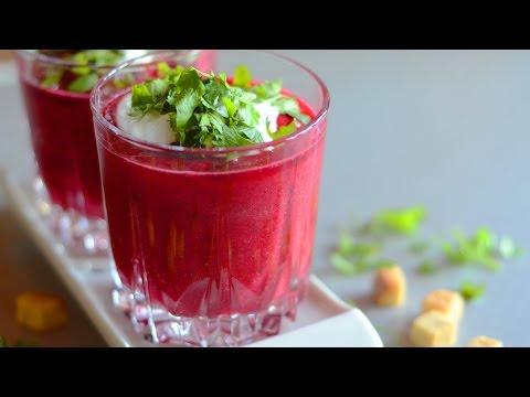 Beetroot Gazpacho Soup Recipe