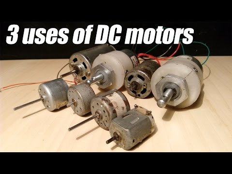 3 Useful things from DC motor - Compilation