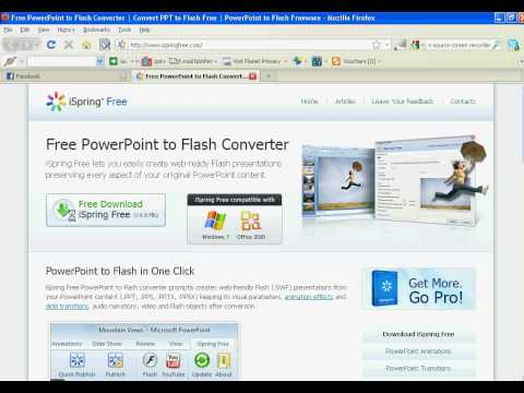 Easiest way to Insert Flash in Powerpoint