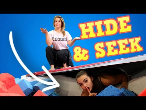 HIDE AND SEEK IN THE GYM w/ Shawn Johnson!
