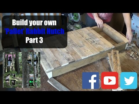 Rabbit Hutch Pt3  | A Beginners Guide | Starting The Roof