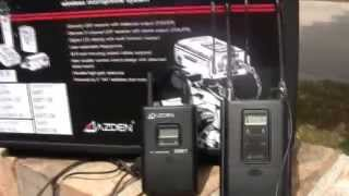 Azden Dual 330 Channel UHF Wireless Microphone System - review