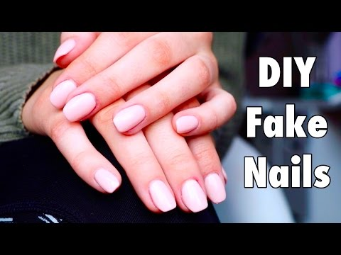 DIY Easy Fake Nails