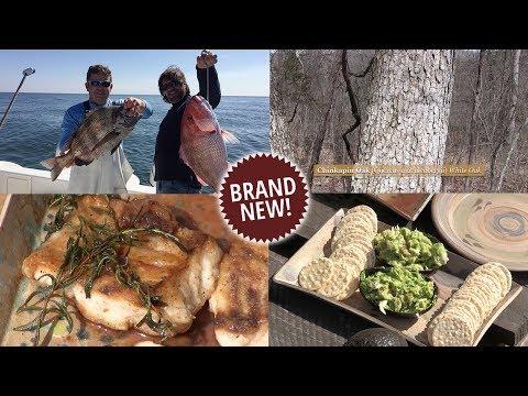 Fishing in Alabama, Tree ID, Rosemary Fish, Avocado, Fish & Pickle Dip (Episode #548)