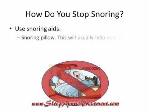 How Do You Stop Snoring
