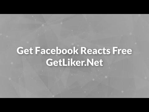 GetLiker - Facebook Auto Reactions - Get Fb Auto Reacts