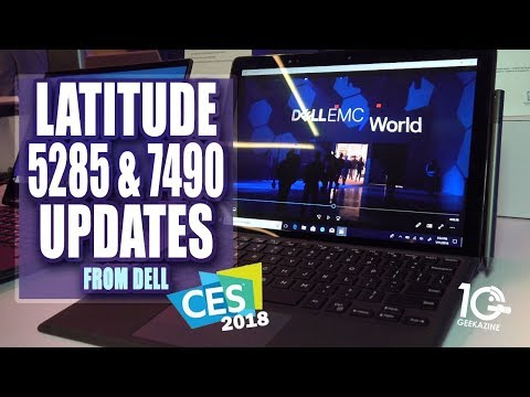 Dell Latitude CES Updates 5285 and 7490 series Notebooks