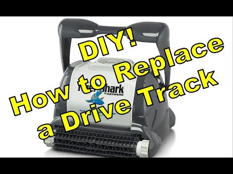 DIY: How to Replace The TigerShark QC Pool Cleaner Drive Track Belt