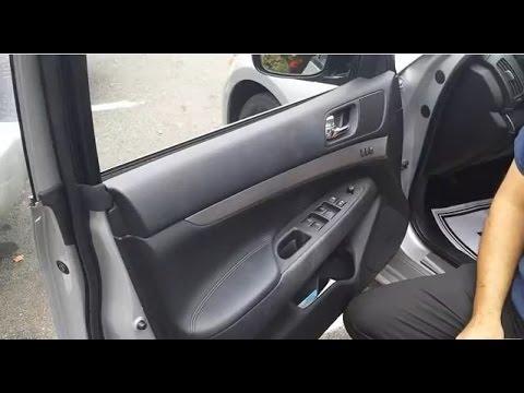 Infiniti or Nissan Door Lock Actuator or Door Handle, Door Lock Replacement.