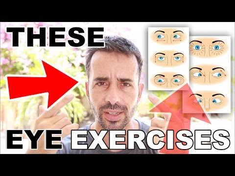 EYE EXERCISES To Reduce Myopia: HAS THE HORSE JUST POOPED AGAIN?!