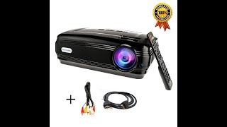 Sourcingbay 3200 Lumens  Home Cinema LED Projector BY58 by Jeasun