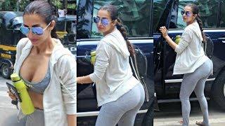 Malaika Arora Khan Spotted Outside Gym Without Makeup