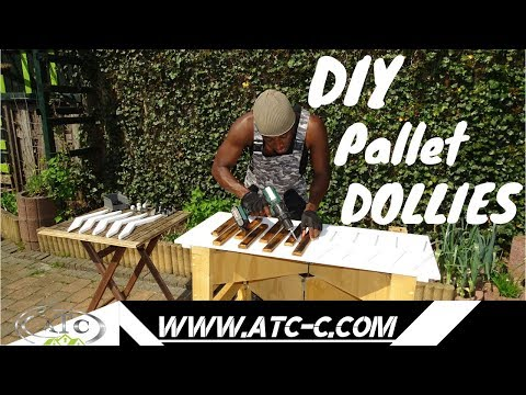 How to make 2 Dollies from pallet wood // Easy DIY