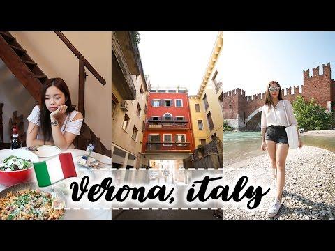 Verona, City of Love   ITALY VLOG