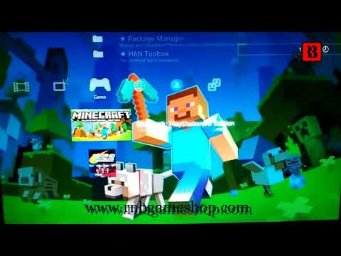 Test Minecraft PS3 Edition PKG PS3 HAN  ( LINK )