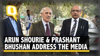 Rafale Row: Prashant Bhushan and Arun Shourie Seek CBI's Help in Investigating the Case