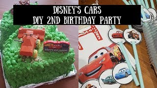 DIY DISNEY S CARS PARTY DECORATIONS AND CAKE mp3