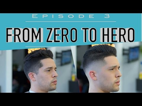 From Zero to Hero - Episode 3 (Slick Back Undercut)