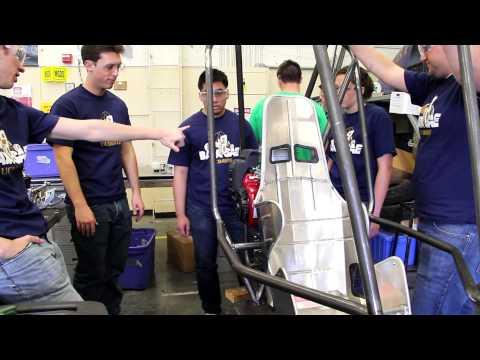 Mechanical Engineering Students: Baja Buggy Team