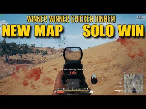 NEW PUBG MAP : SOLO WIN