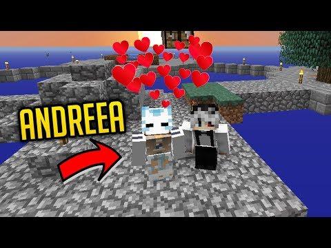 Skyblock cu ANDREEA - UN INVITAT SPECIAL!