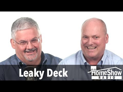 What's the best fix for a leaky second story balcony?