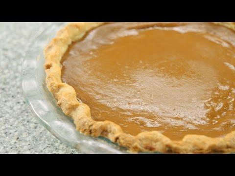 Pumpkin Pie with Gluten Free Pastry