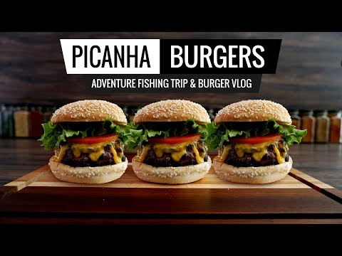 Sous Vide PICANHA BURGERS Adventure - Vlog Fishing in South Florida!