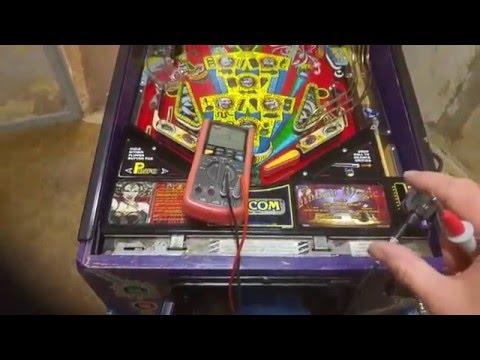 Capcom Pinball Magic Pinball Repair