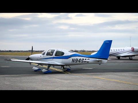 Flight Vlog - Cirrus SR22T England To France  | ATC Audio