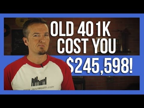 How NOT rolling over an old 401k hurts you.