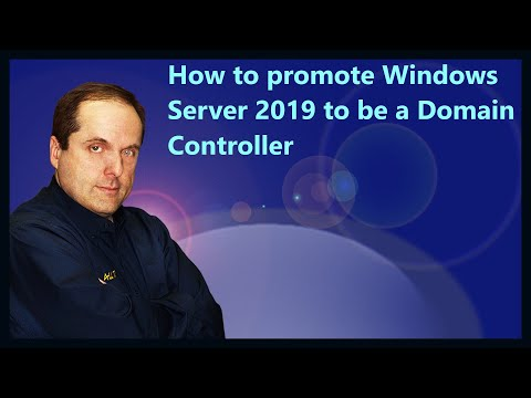 How to promote Windows Server 2019 to be a Domain Controller