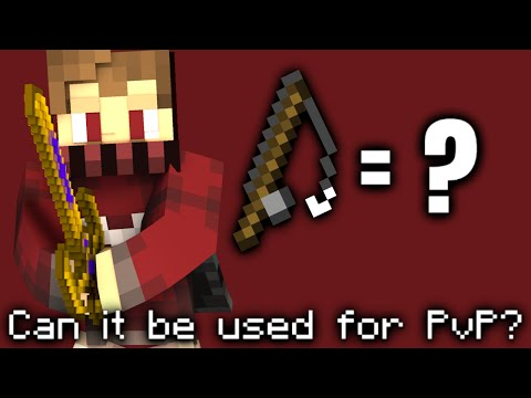CAN FISH RODS BE USED AS A WEAPON FOR PVP IN MCPE?