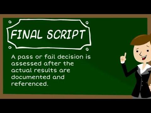 Test Script Development