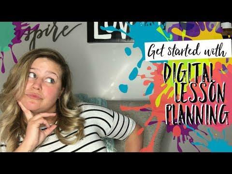 Digital Lesson Planning | Teacher Tips with Meg | Teacher Vlog
