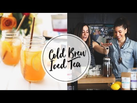 HOW TO MAKE COLD BREW TEA | Step-by-Step Tutorial
