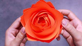 7 EASY PAPER FLOWERS   FLOWER MAKING   DIY