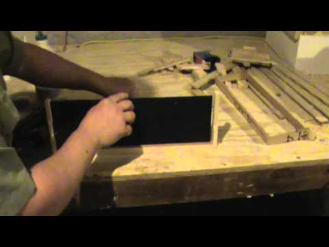 How To Build A Beehive Frame Part 2