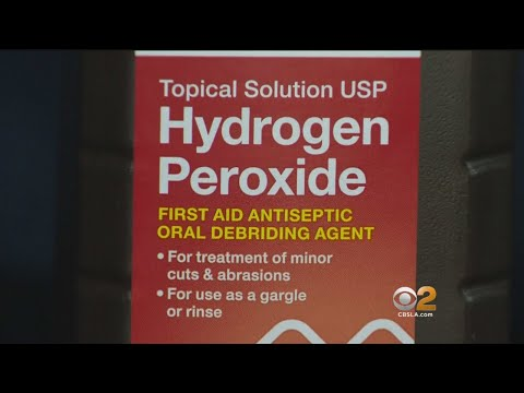 Health Experts Warn Against Trend Of Drinking 'Cure-All' Hydrogen Peroxide