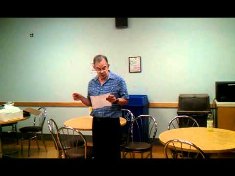 Bob's Retirement Speech At ATC 9-21-11