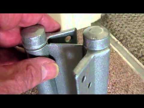 i-Teach-u Fitting a Double Hinge - Technical & fascinating Double Hinge