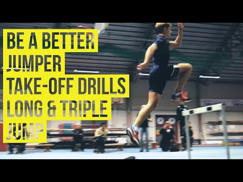 Be a better Jumper - Pt 3 Take-off development, drills & practises
