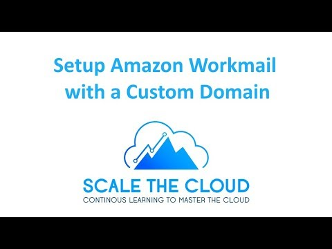 Setup Amazon WorkMail with a Custom Domain