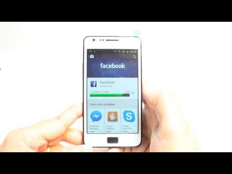Facebook install to Samsung Galaxy S2