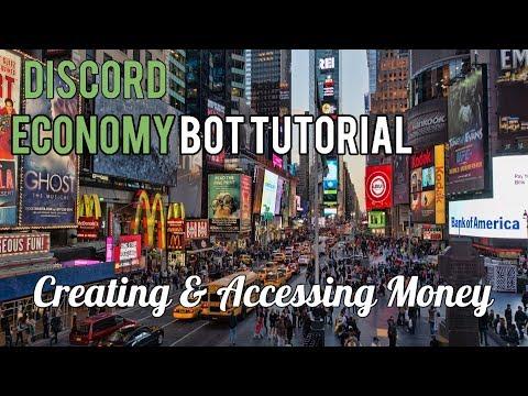 Discord Economy Bot Tutorial  | Creating & Accessing Money [1]